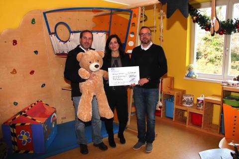 Autovermietung Hofmann verzichtet auf Weihnachtsgeschenke und spendet Bärenherz