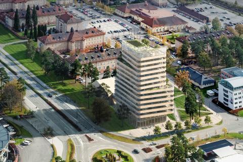 Klart med bygglov för WeXO – Växjö får ny mötesplats för digital innovation