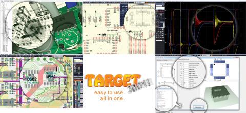 Just nu lämnar vi 20% rabatt på TARGET 3001! - En lättanvänd mjukvara för att designa PCB-kort.
