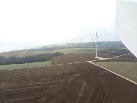 Inauguration du parc éolien de Blaiseron (Haute-Marne)