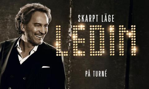 "Ledins hyllade show ""Skarpt läge"" på Saab Arena i höst"