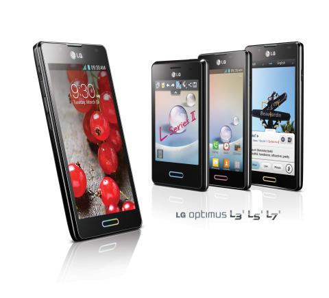 LG:n suosittujen älypuhelinten uusi sukupolvi - Optimus L II -sarja