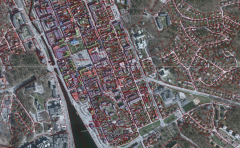 Ny karttjänst om Karlshamns unika rutnätstad