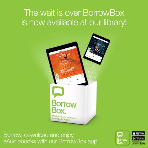 Free e-audiobook service available from your library