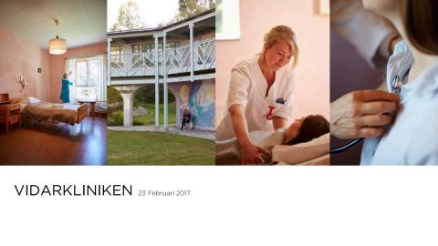 Vidarkliniken presentation 2017-02-23