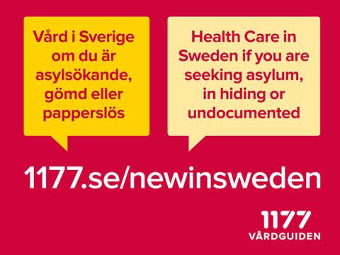"""""""New in Sweden"""": Information på 14 språk om vård i Sverige om du är asylsökande eller papperslös"""