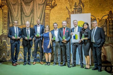 Goda samarbeten, forskningsanläggning i framkant och eldsjälar prisade på årets Sweden Green Building Awards