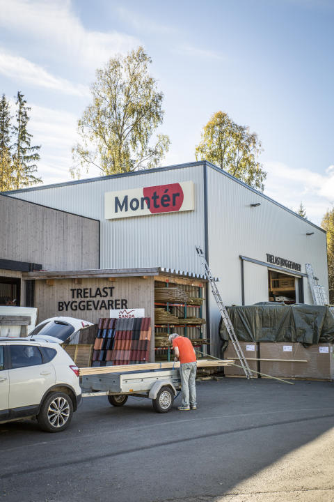 Montér har åpnet i Hurdal