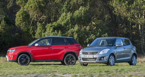 Suzuki Swift og Vitara leasing