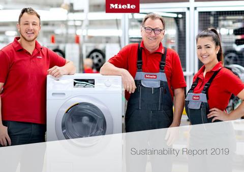 Hållbarhetsrapport 2019 med tydliga miljömål från Miele