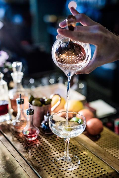 Dry Martini Hernö Gin