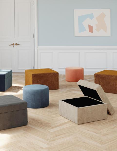 Parker Footrest w. Storage