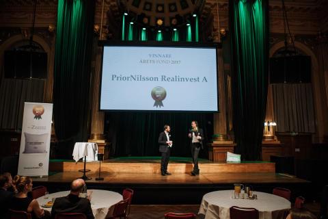Årets Fond 2017 - PriorNilsson Realinvest A