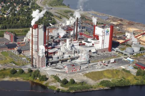 Eitech ansvarar för leverans av GIS-ställverk till SCA Östrand