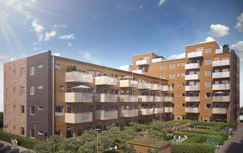 Stort intresse för nyproducerade större våningar i Lund