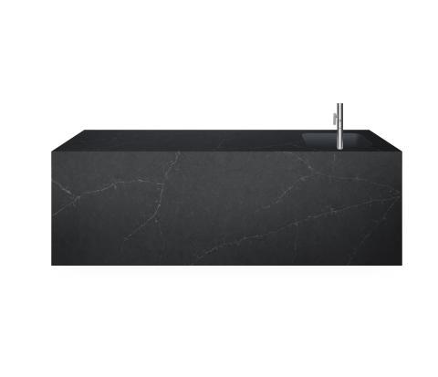 Silestone® Eternal Charcoal Soapstone_kitchen island (1)