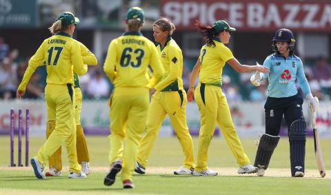 Australia Go 4-0 Up In Women's Ashes