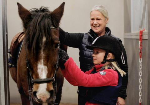 Carina Bergh från Järna RK är Årets ridlärare