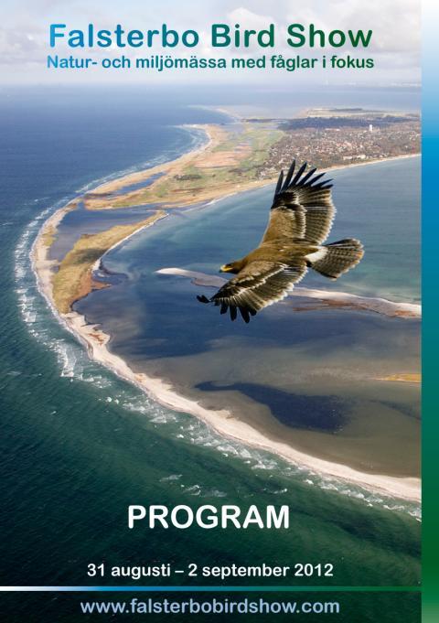 Hela programmet för Falsterbo Bird Show 2012