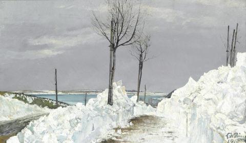 "L. A. Ring: ""Vinterlandskab"" (1915)"