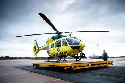 Ambulanshelikoptern i operativ drift