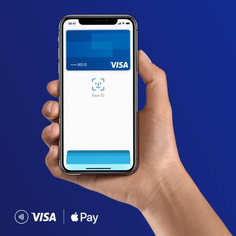 Płatności z Apple Pay już dostępne dla milionów polskich użytkowników kart Visa - grafika
