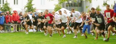 Linköpings största stafettlopp - Mjärdevistafetten - den 9 september