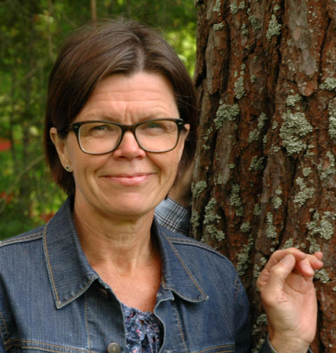 Iréne Gustafson , Vice VD Skogsmuseet i Lycksele