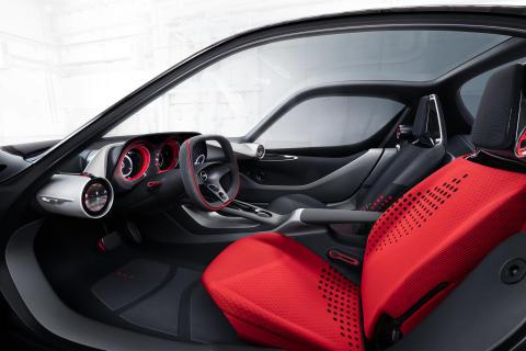 Opel GT Concept Interiör