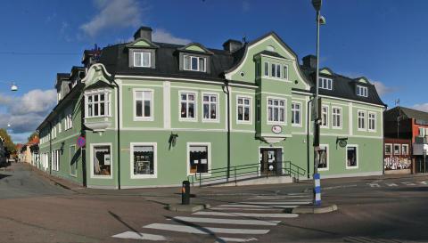 Södra Dalarnas Sparbank flyttar kontoret i Hedemora till Gamla Järnhandeln