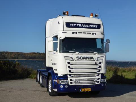 Ny V8 til vognmand Teddy Tiufkær