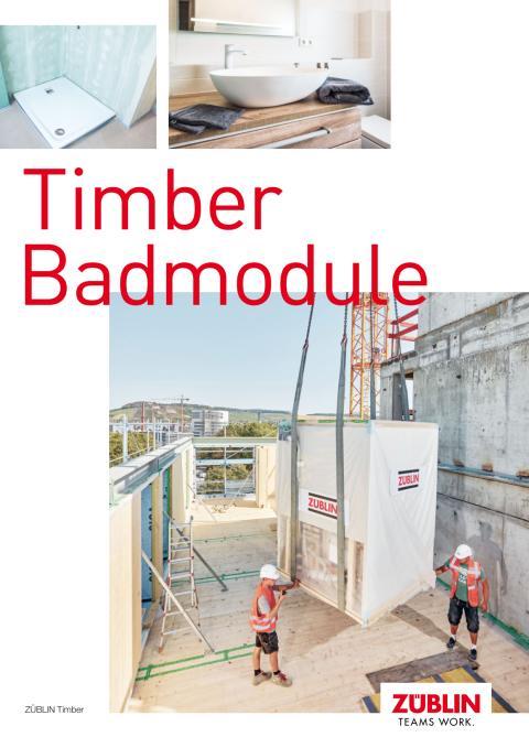 ZÜBLIN Timber: Badmodule