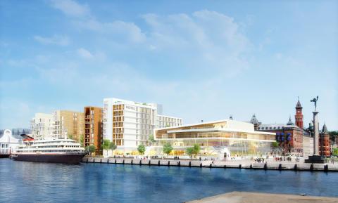 Clarion Hotel utsedda till operatör för Helsingborgs nya hotell- och kongressanläggning
