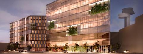 Jones Lang LaSalle och Swedavia utvecklar tillsammans Arlandas nya kontorssatsning - Sky City Office One