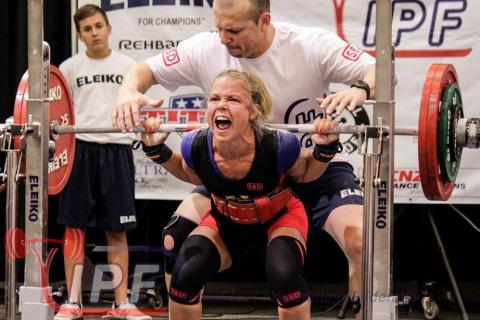VM i styrkelyft till Helsingborg