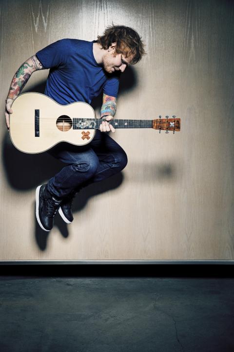 Ed Sheeran - årets mest streamade artist