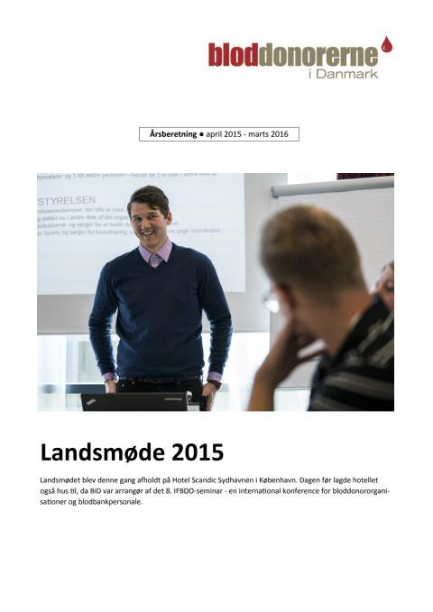 Årsberetning 2015-2016