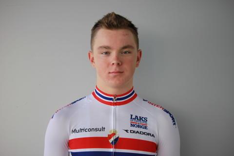 Joakim Kjemhus under sykkel-VM 2016