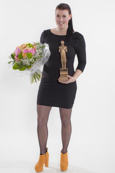 Kvarnbolundköpmannen Liza Vallén utsedd till bästa köpman på Shell/7-Eleven