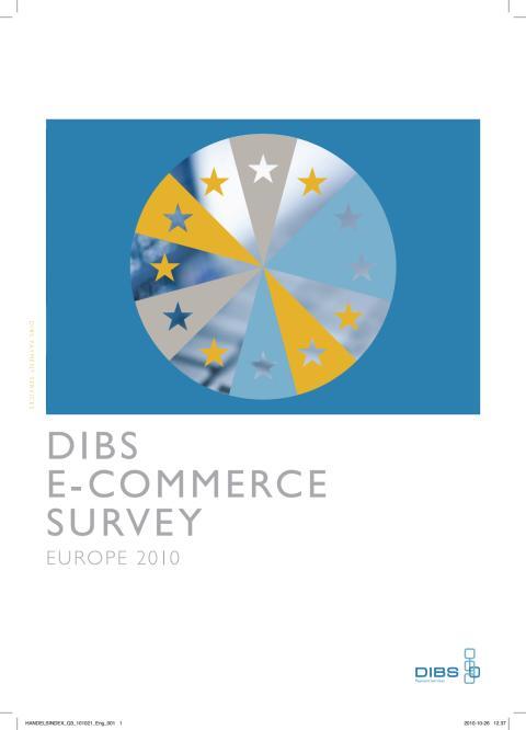 DIBS E-handelsindeks Europa 2010