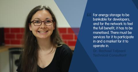 Energy storage – making the most of the opportunity.