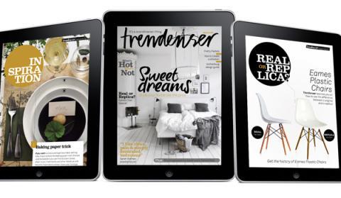 Trendenser – nytt digitalt inredningsmagasin
