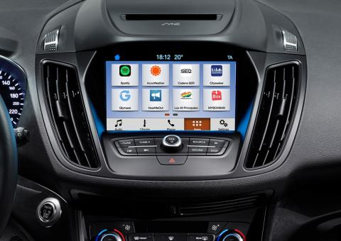 Ford SYNC 3 lanseres i Europa