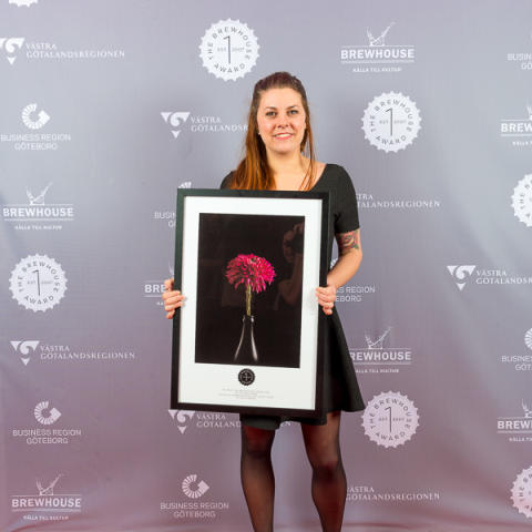 Arrangörskap för unga tjejer, vinnare 3:e pris Av och med unga The Brewhouse Award 2015