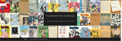 Fredrika Bremer Förbundet lanserar: Herthabloggen