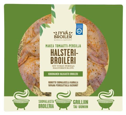 Ensi kesänä grilliin kauralla kasvatettua Jyväbroiler-uutuuksia
