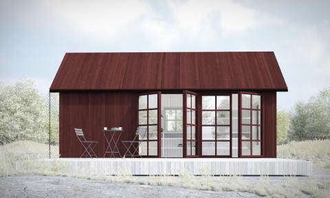 Sommarnöjen lanserar Sveriges största kollektion av Attefallshus –riktiga hus utan bygglov.