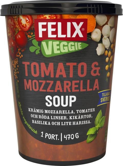 Felix Veggie Tomato & Mozzarella Soup