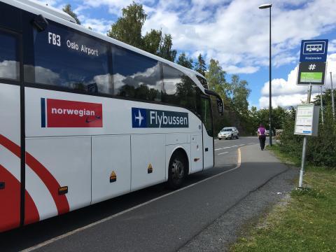 Norwegian Reward inngår samarbeid med Flybussen