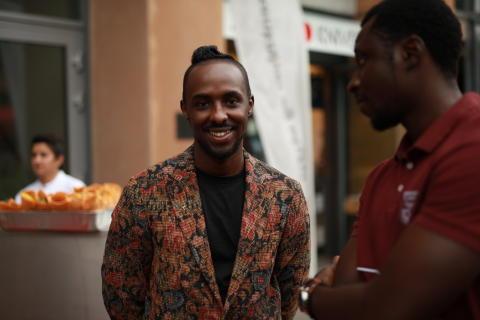 Mohamed Adli Mohamed jobber på Comfort Hotel Grand Central, men startet sin hotellkarriere på PS:Hotell.